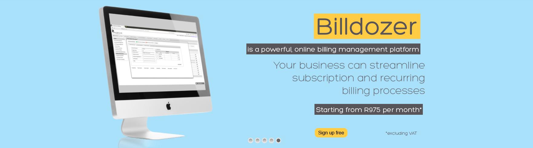 billdozer online recurring billing system